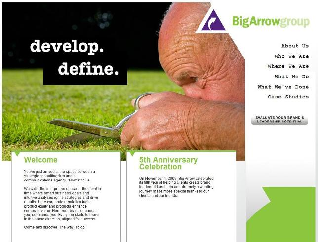 Mitra Creative Redesigns the Big Arrow Group Website