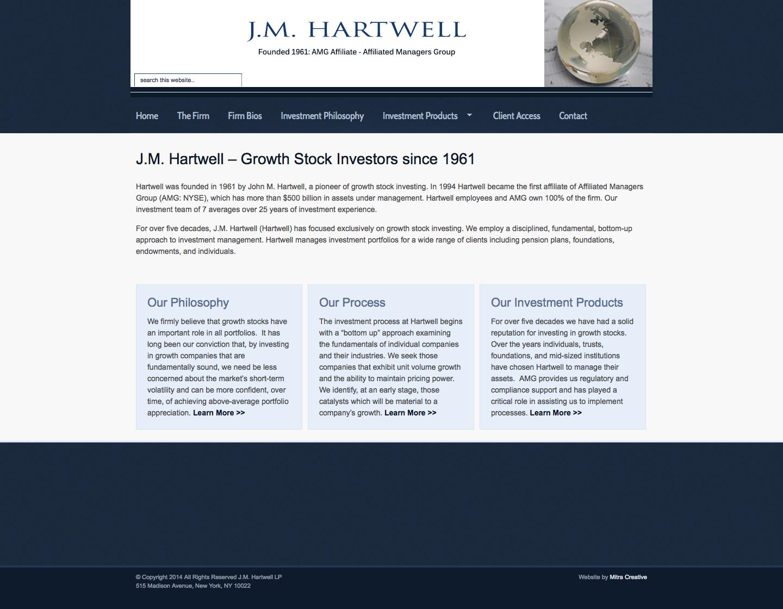 J.M. Hartwell LP