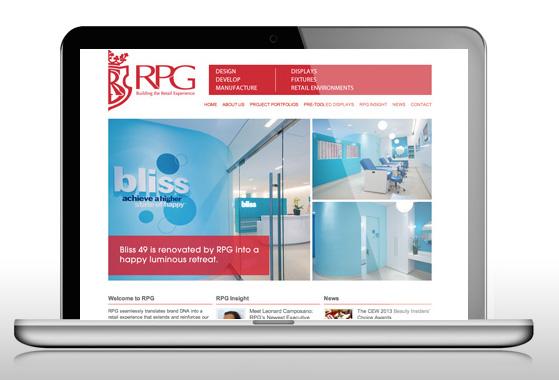 RPG Website - Responsive Website by Mitra Creative